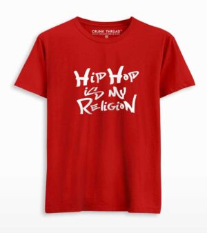 hiphop is my religion t shirt