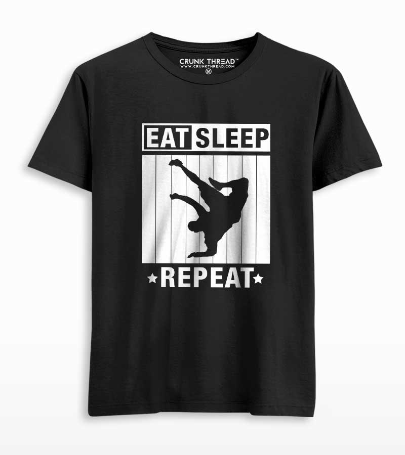 eat sleep bboy repeat tshirt
