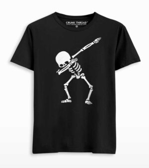Dabbing skeleton t shirt