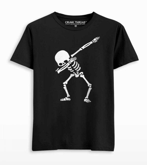 Dabbing skeleton t shirt