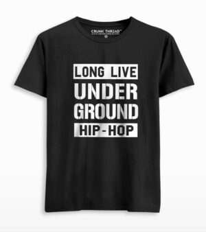 longlive underground hiphop t shirt