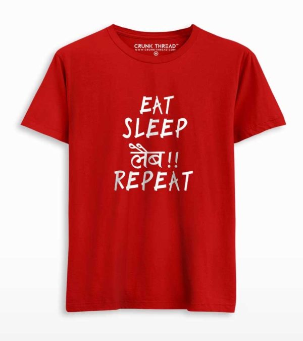 eat sleep labb repeat tshirt