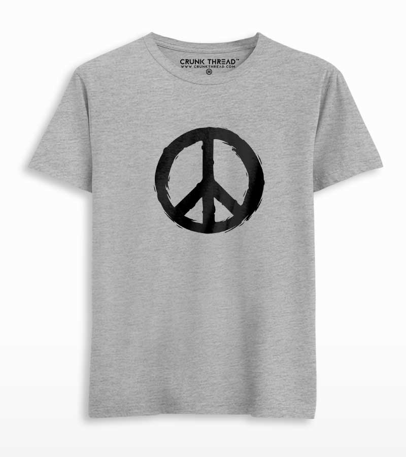 Peace Printed T-shirt