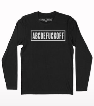 Abcdefuckoff full sleeve T-shirt