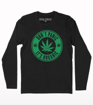 Dont panic its organic full sleeve T-shirt
