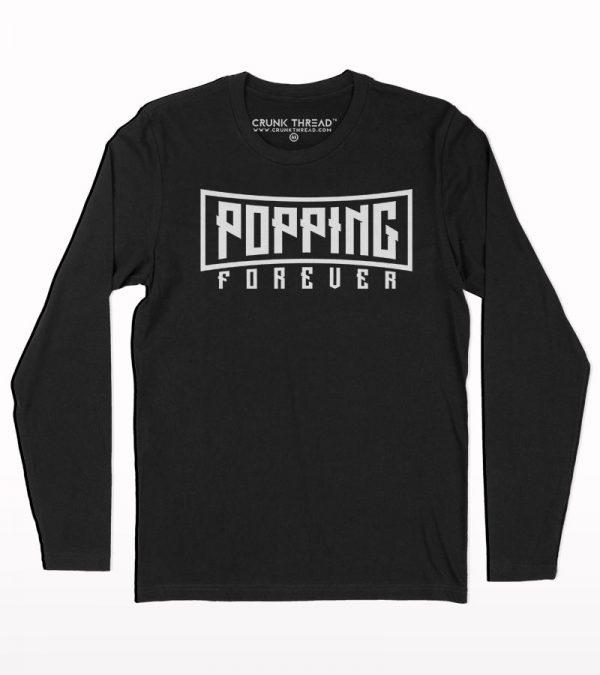 Popping forever full sleeve T-shirt