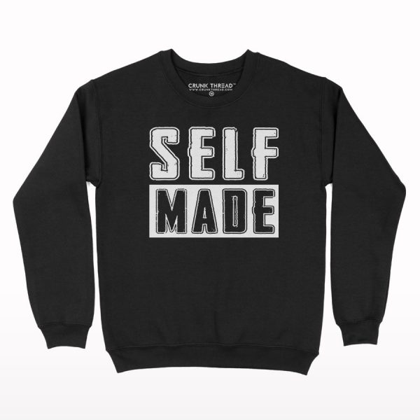 Self Made Print Sweatshirt