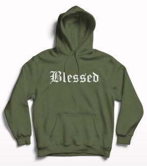 Blessed Print Hoodie