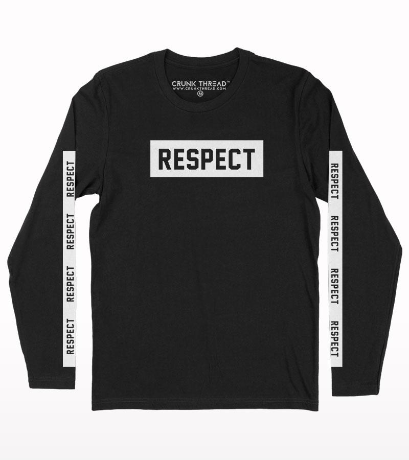 Respect Full Sleeve T-shirt
