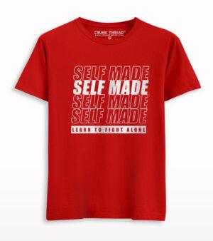 Self Made Printed T-shirt