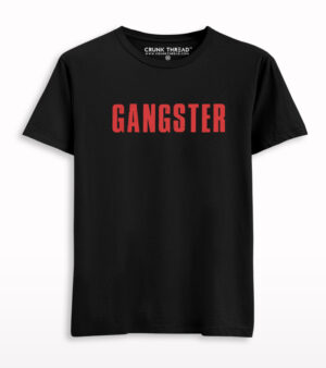 Gangster Printed T-shirt