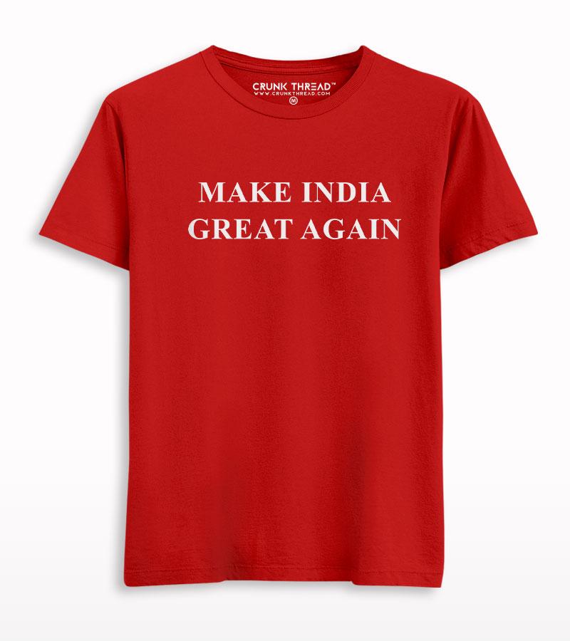 Make India Great Again T-shirt
