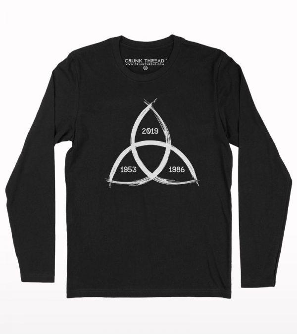 Dark Triquetra Full Sleeve T-shirt