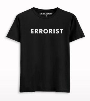 Errorist Printed T-shirt