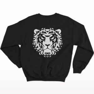 Fearless Front-Back Printed Sweatshirt
