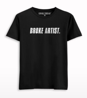 Broke Artist Printed T-shirt