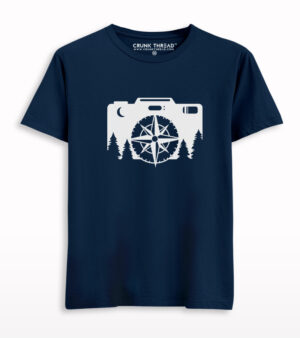 Camera and Compass Travel T-shirt